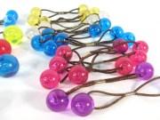 vintage hair baubles plastic ball