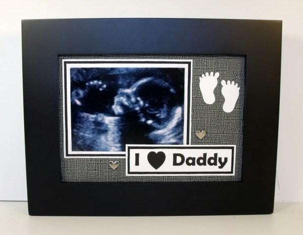Ultrasound Frame for Grandparents