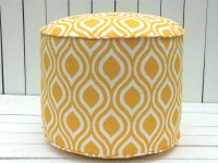 Yellow pouf chair round ottoman in 18 bean bag chair by ...