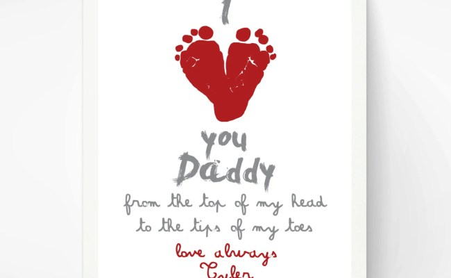 Valentines Day Gift For New Dad I Love You By