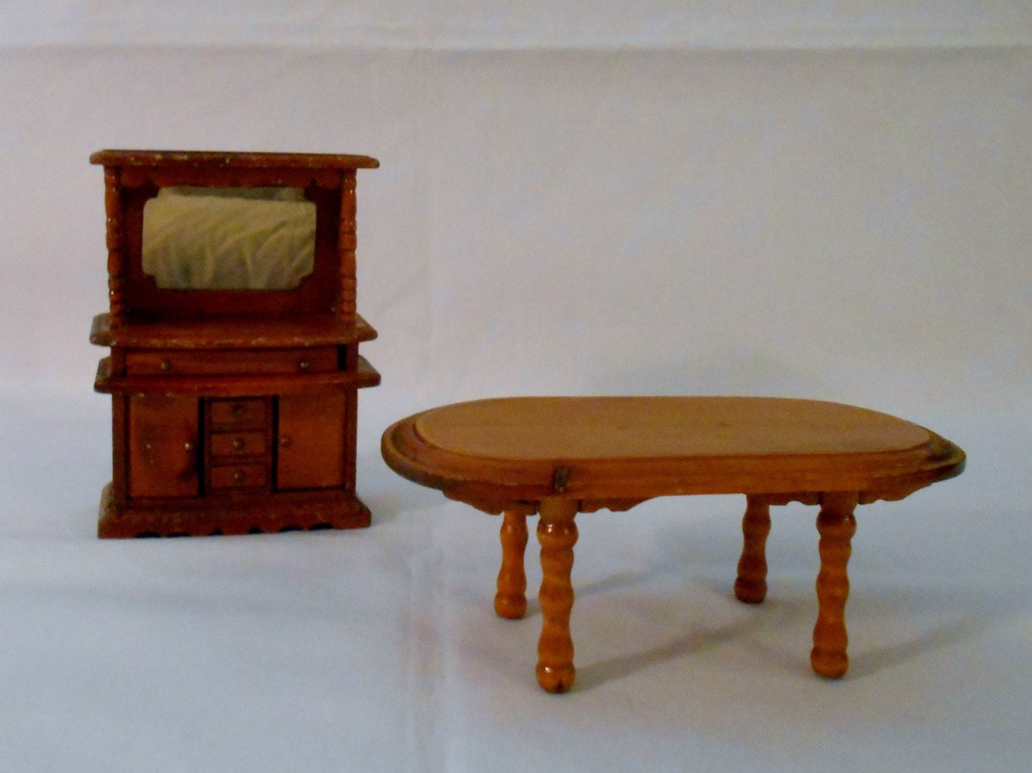 dollhouse furniture dining room table and hutch haute juice