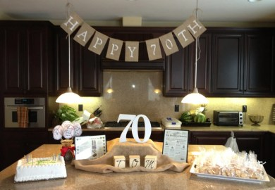 70th Birthday Party Ideas For Men