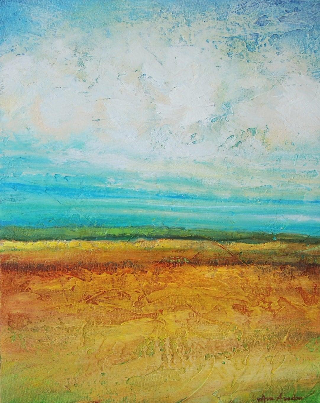 Peaceful Landscape Paintings