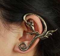 Items similar to Flying Dragon Ear Cuff on Etsy