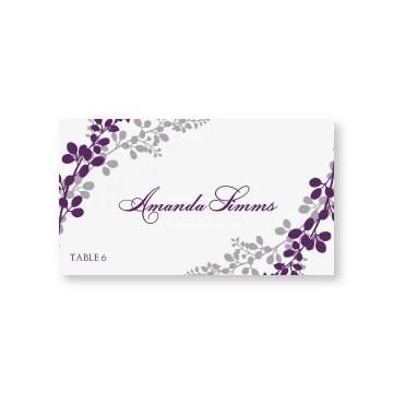 Wedding Place Card Template DOWNLOAD by DiyWeddingTemplates