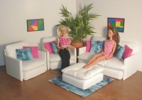 √ Barbie Doll Living Room Furniture | Barbie Living Room Set