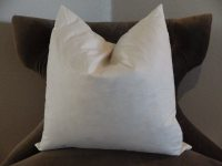 20 inch Feather Pillow Insert - 20 x 20 Feather Pillow ...