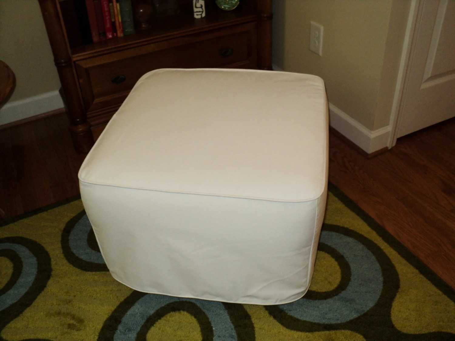 chair and ottoman slipcover set womb review custom made for your from own fabric.