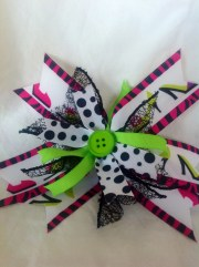 handmade hair bow cinderellabowtique