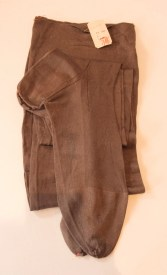 Vintage 1920s Grey Silk Stockings Deadstock - 9