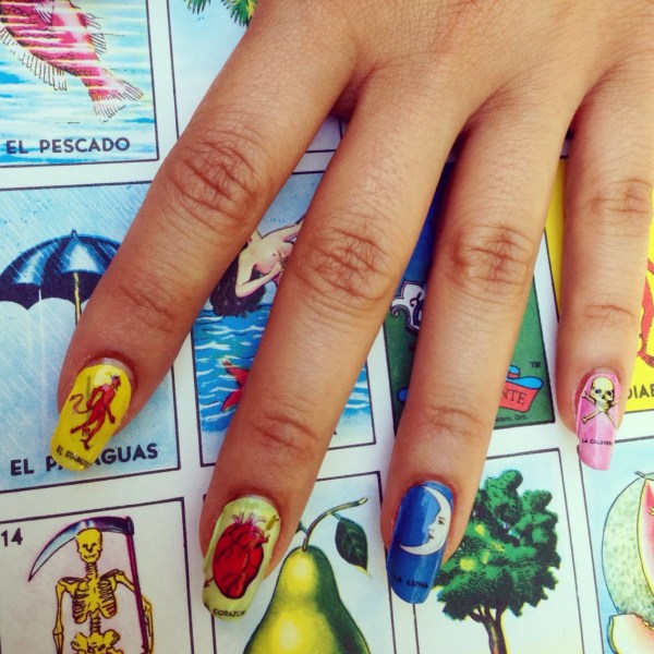 Loteria Nail Decals Variety Pack Chachacovers