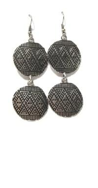 Exotic Earrings Tibetan Style Earrings Dangle Earrings