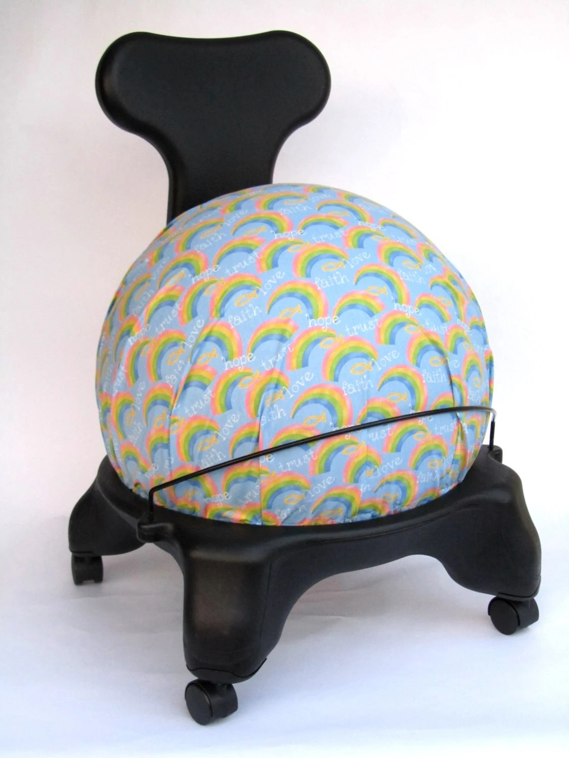 fitball balance ball chair hip surgery exercise cover fits isokinetics by