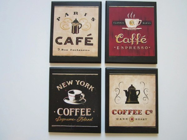 Coffee Cafe Kitchen Wall Decor