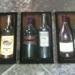 Wine Bottle Themed Kitchen Decor Pantry Storage Theme Wall Plaques Napa Valley