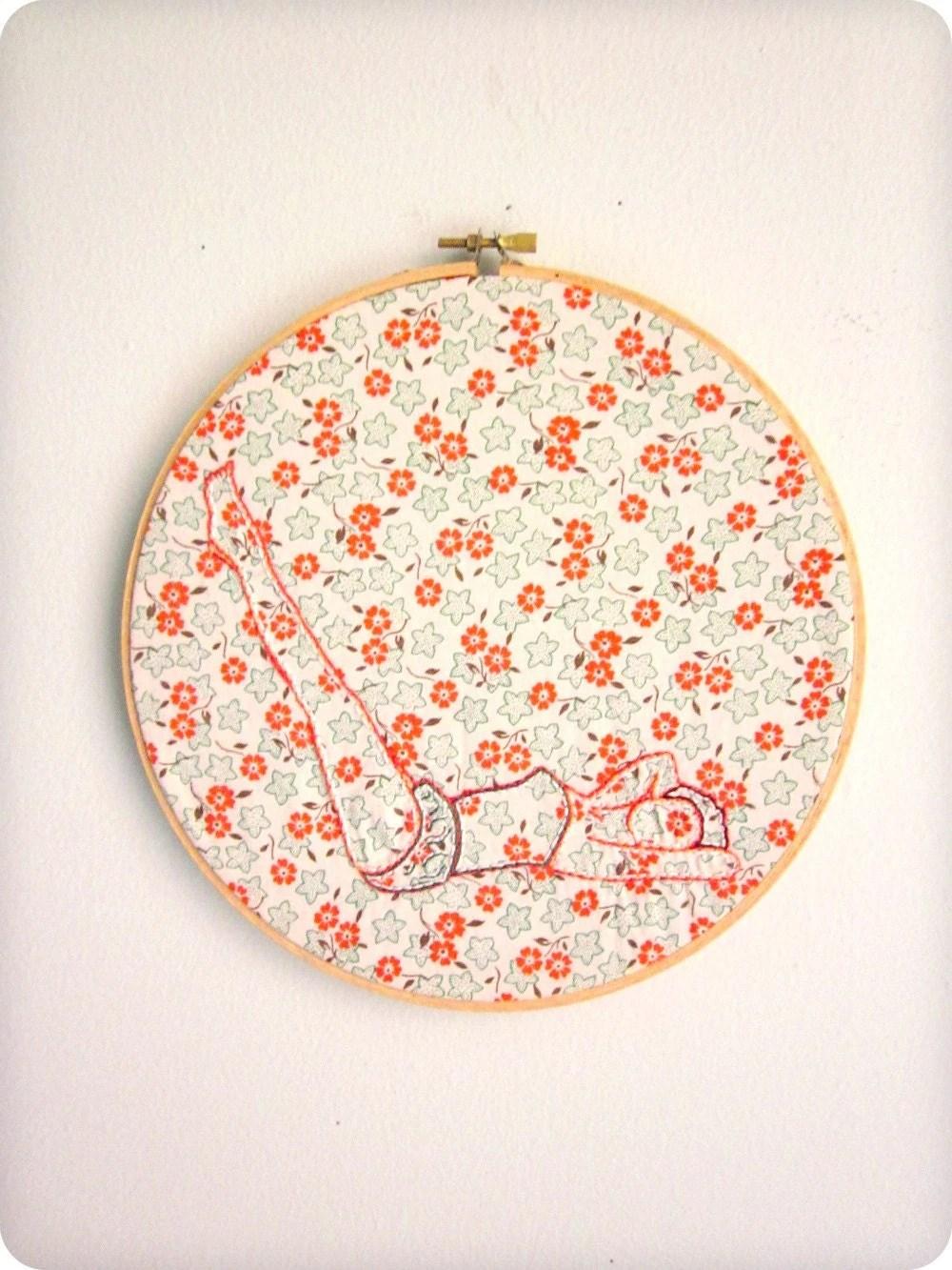 embroidery by badgrammar