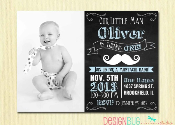 2 Year Old Boy Birthday Party Invitations