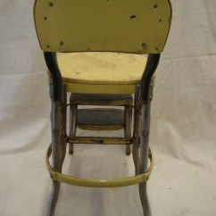 Folding Chair Yellow Purple Velvet High Back Vintage Metal Costco Step Stool Fold Out