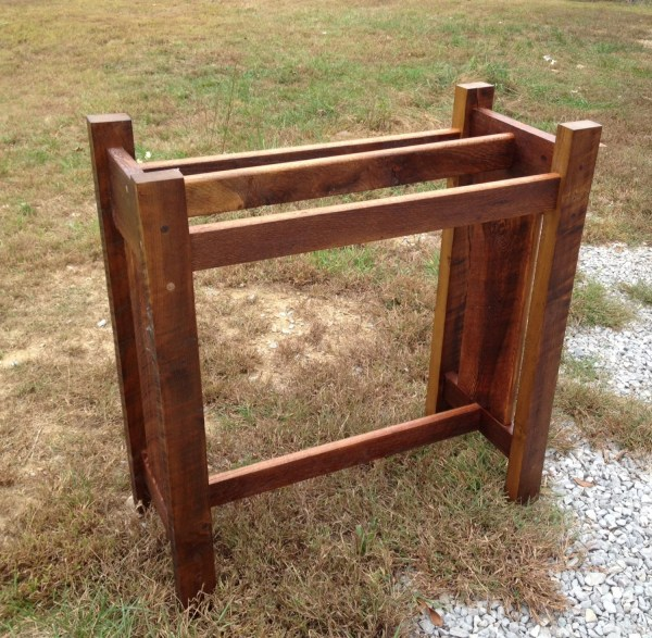 Wood Quilt Ladder Rack