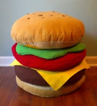 BURGER PILLOW (FIVE) on The Hunt