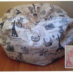 Animal Bean Bag Chair Silver Ruched Covers Cover Paris Reader 39s Nest