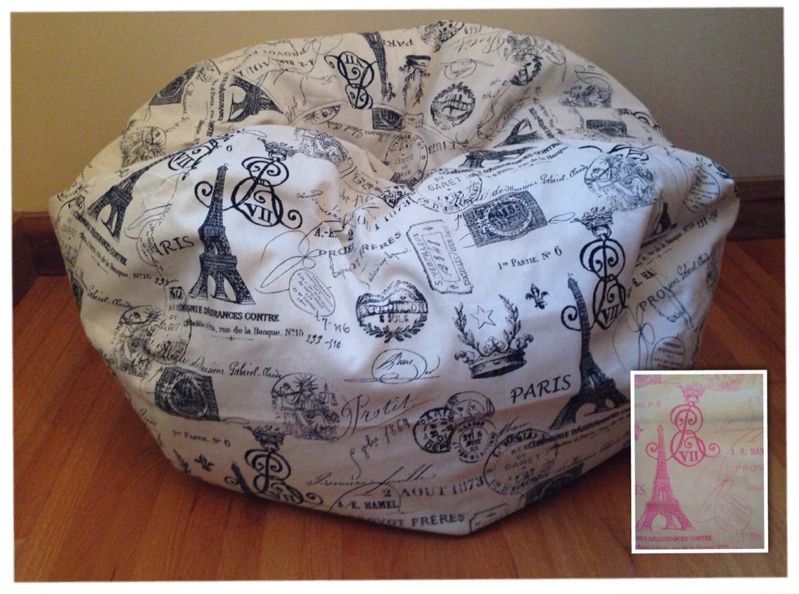 Bean Bag Chair Cover Bean Bag Chair Cover Paris Reader 39s Nest Bean Bag Chair