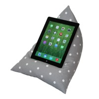 iPad / Tablet Cushion Stand Pillow Holder GREY by ...