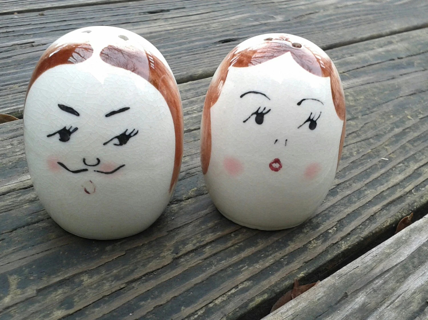 Mr & Mrs Salt and Pepper Shakers