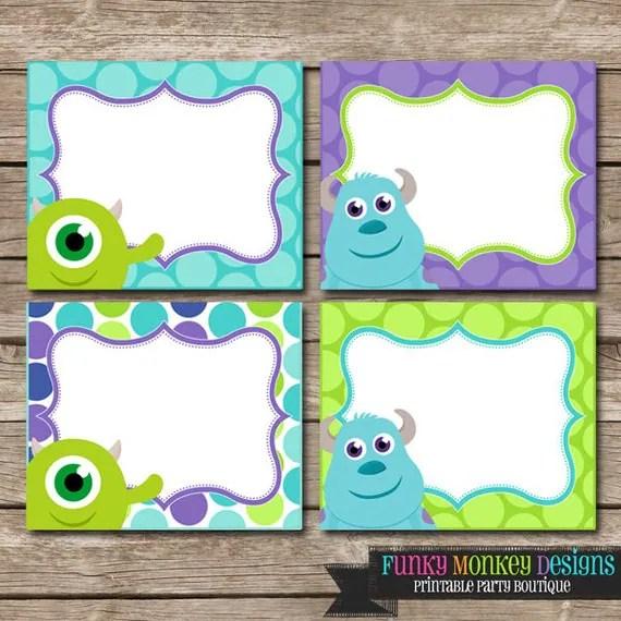 Monster Inc Birthday Cards