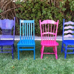 Mismatched Dining Chairs Office Chair Armrest Replacement Custom Color Set Of 4 By