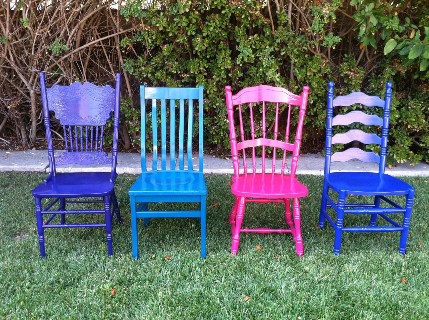 Mismatched Dining Chairs Custom Color Mismatched Dining Chairs Set Of 4 By