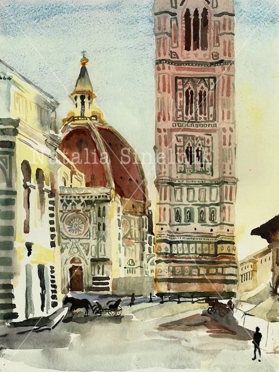 Florence Duomo landscape digital download from original