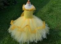 Disney Princess Belle Inspired Tutu Dress