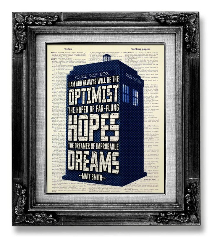 Dr Who Poster Etsy