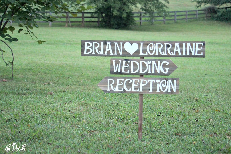 Wedding Reception Sign Wedding Reception Decor Wedding