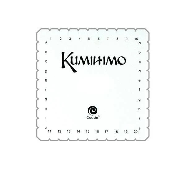Kumihimo Square Braiding LoomInstructions In English