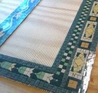 Items similar to Pre-made NYC Subway Mosaic - Tile Install ...