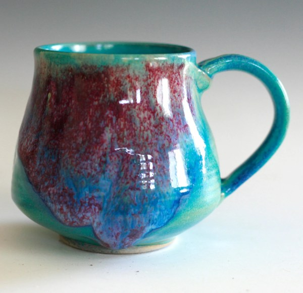 Large Coffee Mug 16 oz handmade ceramic cup ceramic