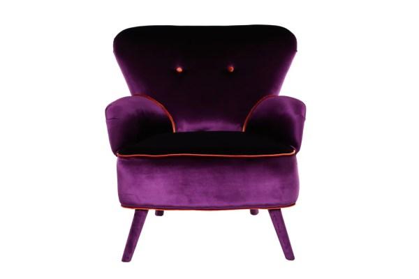 Deep Purple Armchair