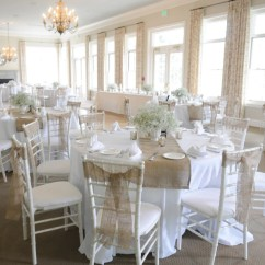 Wedding Chair Covers And Bows Parson Chairs For Sale Set Of 50 Long Natural Burlap Sashes Stitched