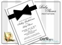 Items similar to Black Tie Affair Baby Shower Invitation ...