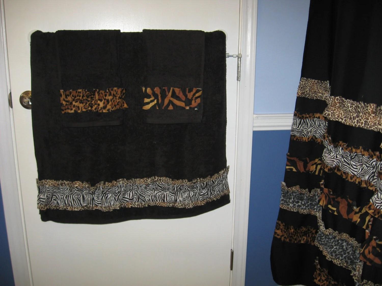 Towel Set Hand Bath Washcloth Bathroom Fabric By