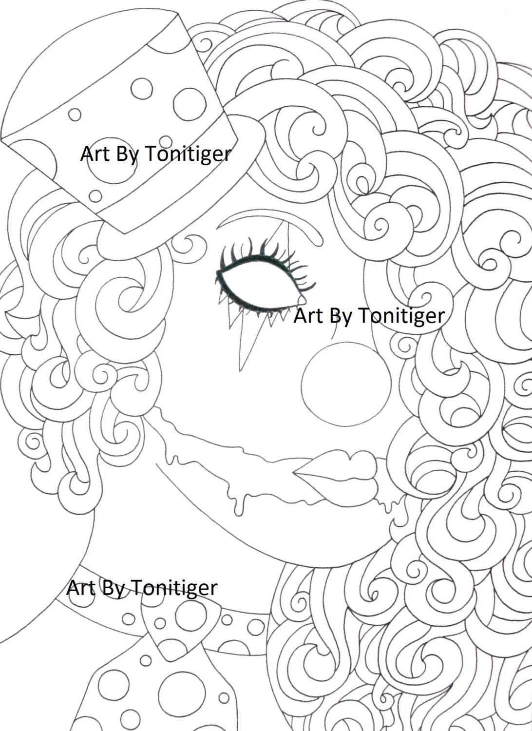 Items similar to Instant Digital Download Coloring Page