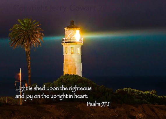 Fall Pics With Scripture Wallpaper Items Similar To Bible Verse Scripture Night Lighthouse
