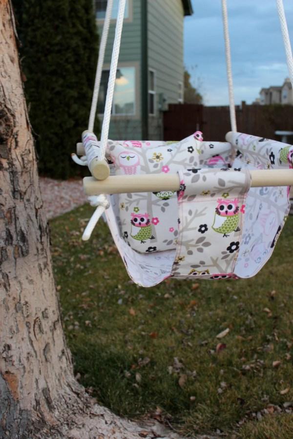 Indoor Outdoor Canvas Swing Infant Child
