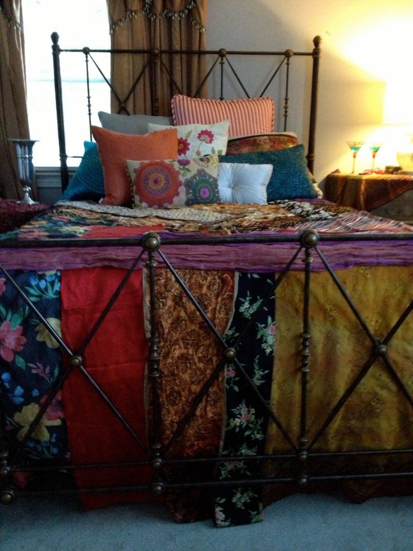 Gypsy Boho Bedspread Bedding Blanket Bohemian