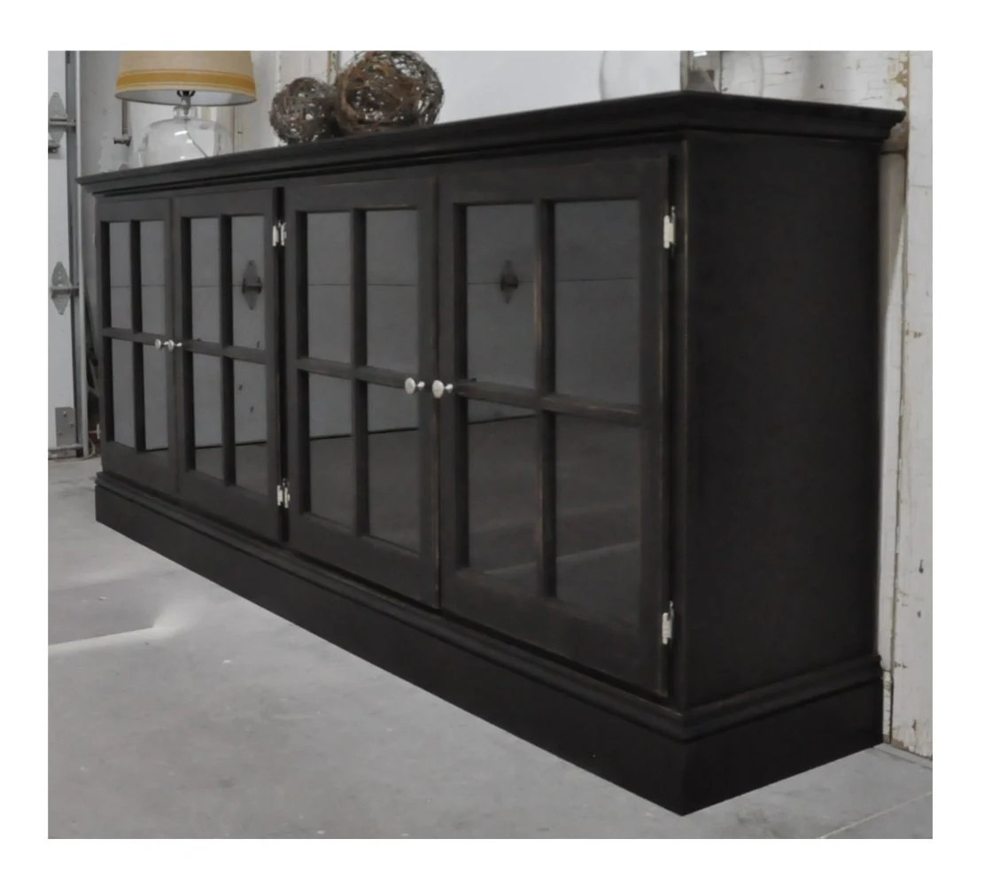 Black Media Cabinet
