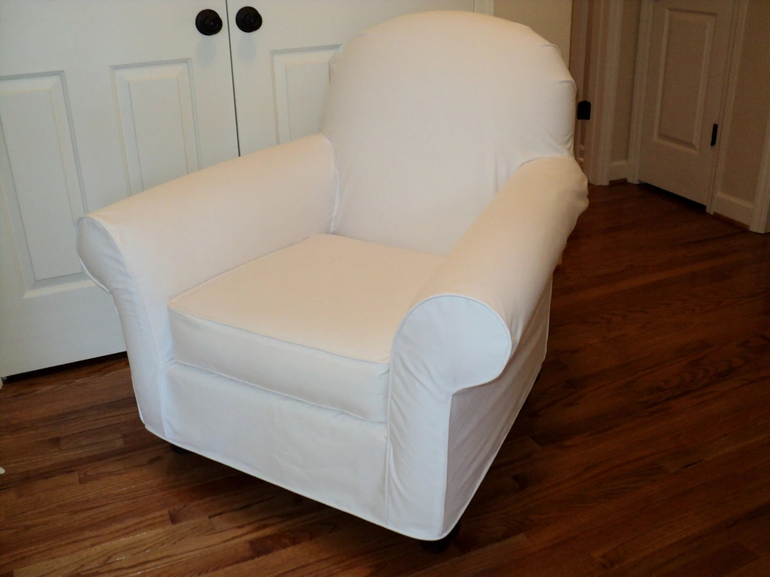 chair covers pottery barn dental chairs for sale custom slipcover your pb dream rocker with wooden