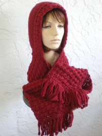 Crochet Pattern Hat With Scarf Attached ~ Dancox for