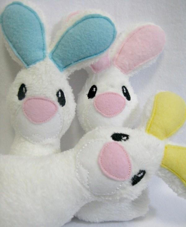 Plush Easter Bunny Rabbit Softie Stuffed Toy Lilliannamarie